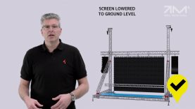 MILOS LED Screen support Structures – Safe Use
