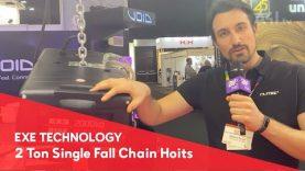 EXE TECHNOLOGY – 2 Ton Single Fall hoist