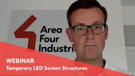 Webinar – Temporary LED Screen Structures